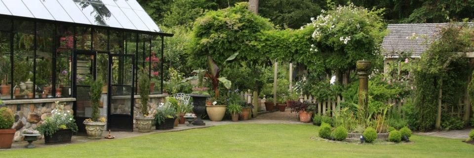 Un jardin paysagé toujours entretenu quelque soit la saison